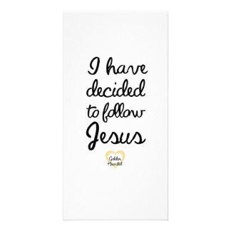 I Have Decided Card [Baptism]