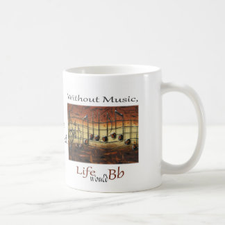 I Have Decided-Without Music, Life... Coffee Mug