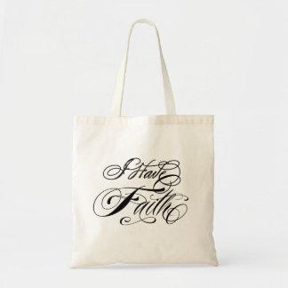 I Have Faith Budget Tote Bag