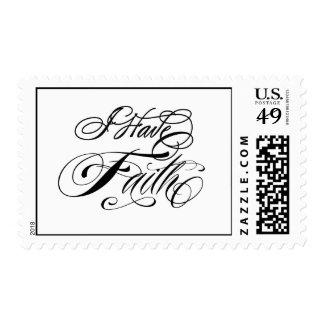 I Have Faith Custom Postage