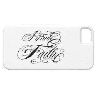 I Have Faith iPhone 5 Case