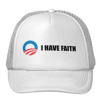 I HAVE FAITH TRUCKER HAT