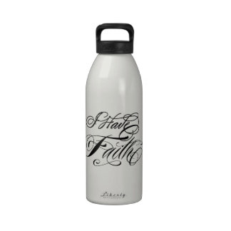 I Have Faith Water Bottles