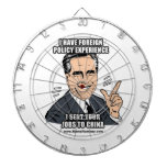 I HAVE FOREIGN POLICY EXPERIENCE DART BOARD