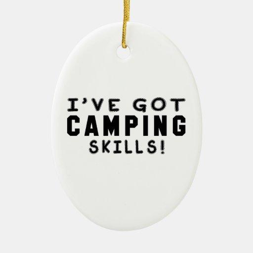 I Have Got Camping Skills Christmas Ornaments