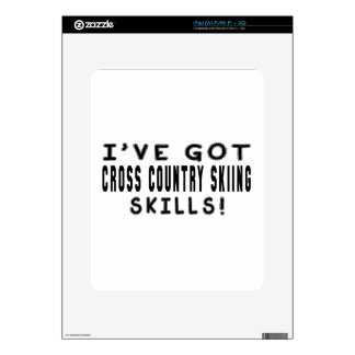 I Have Got Cross Country Skiing Skills Decals For The iPad