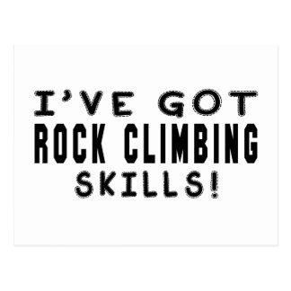 I Have Got Rock Climbing Skills Postcard