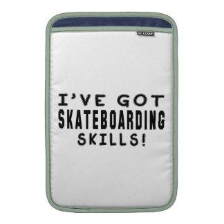 I Have Got Skateboarding Skills MacBook Air Sleeves