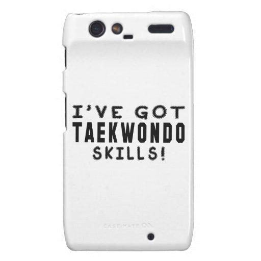 I Have Got Taekwondo Skills Motorola Droid RAZR Case