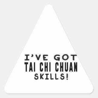 I Have Got Tai Chi Chuan Martial Arts Skills Stickers
