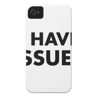 I Have Issues Case-Mate iPhone 4 Case