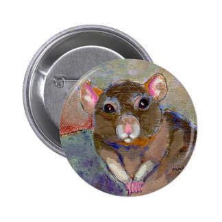 I Have Issues - fun sensitive pet rat painting art Pins