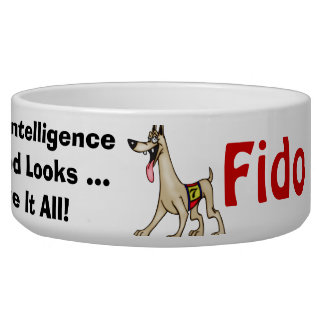I Have It All Customized Dog Bowls