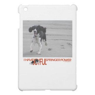 I Have Joyful Springer Power Customize With Photo Cover For The iPad Mini