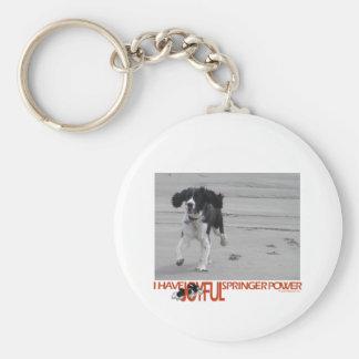 I Have Joyful Springer Power Customize With Photo Key Chains