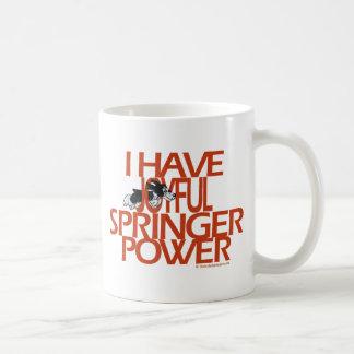 I Have Joyful Springer Power Mugs