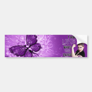 I have LUPUS whats your excuse Car Bumper Sticker