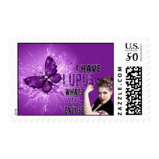 I have LUPUS whats your excuse -  Postage Stamp
