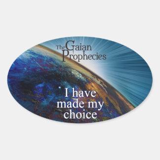 """I have made my choice"" sticker"