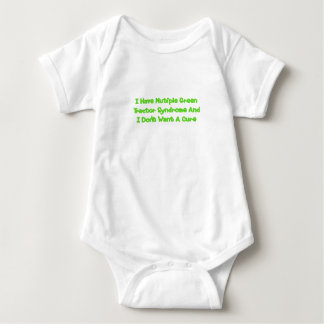 I Have Multiple Green Tractor Syndrome And I Dont Baby Bodysuit