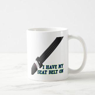 I Have My Seat Belt On Classic White Coffee Mug