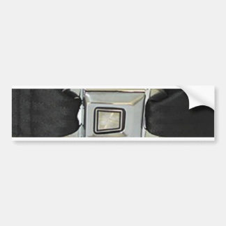 I Have My Seat Belt On (Seat Belt for your bumper) Bumper Sticker