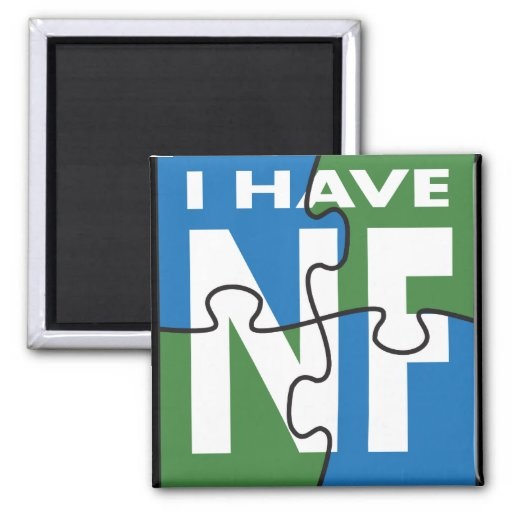 I Have NF 2 Inch Square Magnet