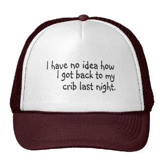 I have no idea how trucker hat