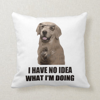 I Have No Idea What I'm Doing Pillow
