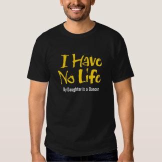 I Have No Life (Gold) T Shirt