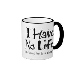 I Have No Life Ringer Coffee Mug