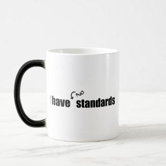 I Have No Standards Coffee Mug