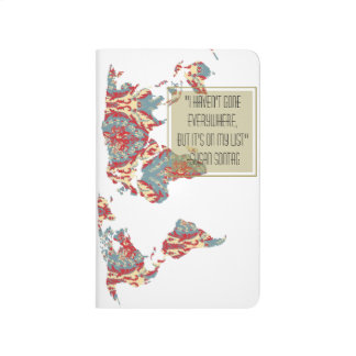 I have not been Everywhere, but its on my list Map Journal
