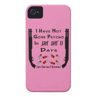 I Have Not Gone Psycho In Days Shotgun iPhone 4 Case-Mate Case