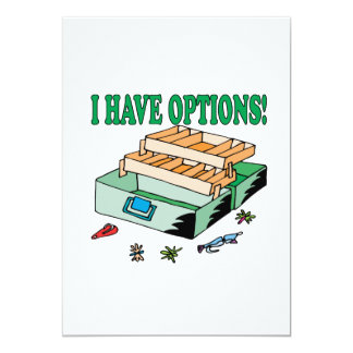 I Have Options Card