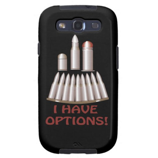 I Have Options Galaxy S3 Cover