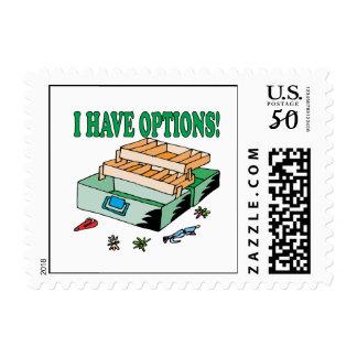 I Have Options Postage