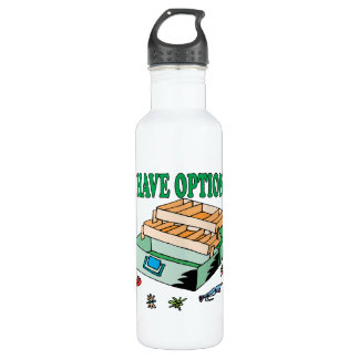 I Have Options Water Bottle