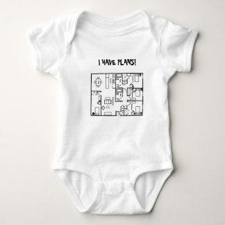 I HAVE PLANS INFANT TODDLER T SHIRT -FLOORPLANS