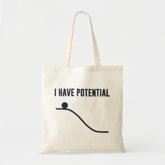 I Have Potential Energy Canvas Bag