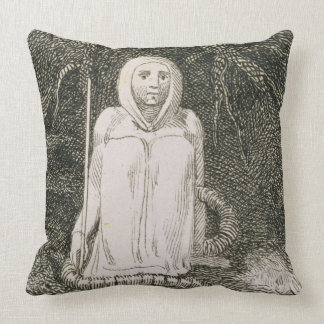 I Have Said to the Worm Thou Art My Mother and My Throw Pillow