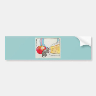 I have seen you, little mouse bumper sticker