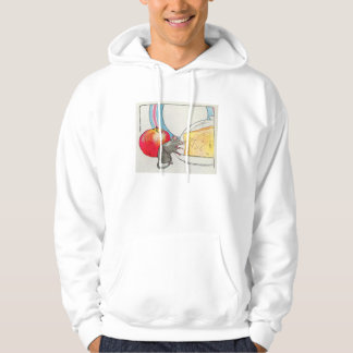 I have seen you, little mouse hooded sweatshirts