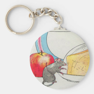 I have seen you, little mouse keychain