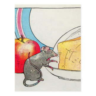 I have seen you, little mouse postcard
