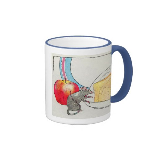 I have seen you, little mouse ringer coffee mug