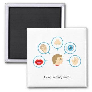 I have sensory needs - magnet