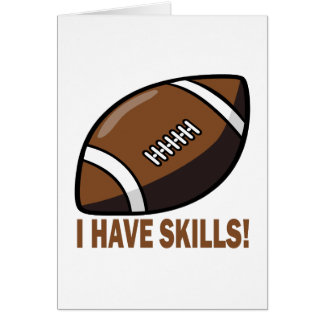I Have Skills Card