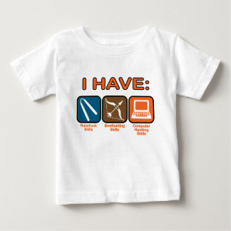 I Have Skills Napoleon Dynamite Baby T-Shirt