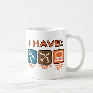 I Have Skills Napoleon Dynamite Classic White Coffee Mug
